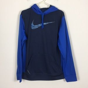 Nike Therma-Fit Blue Pullover Sweatshirt